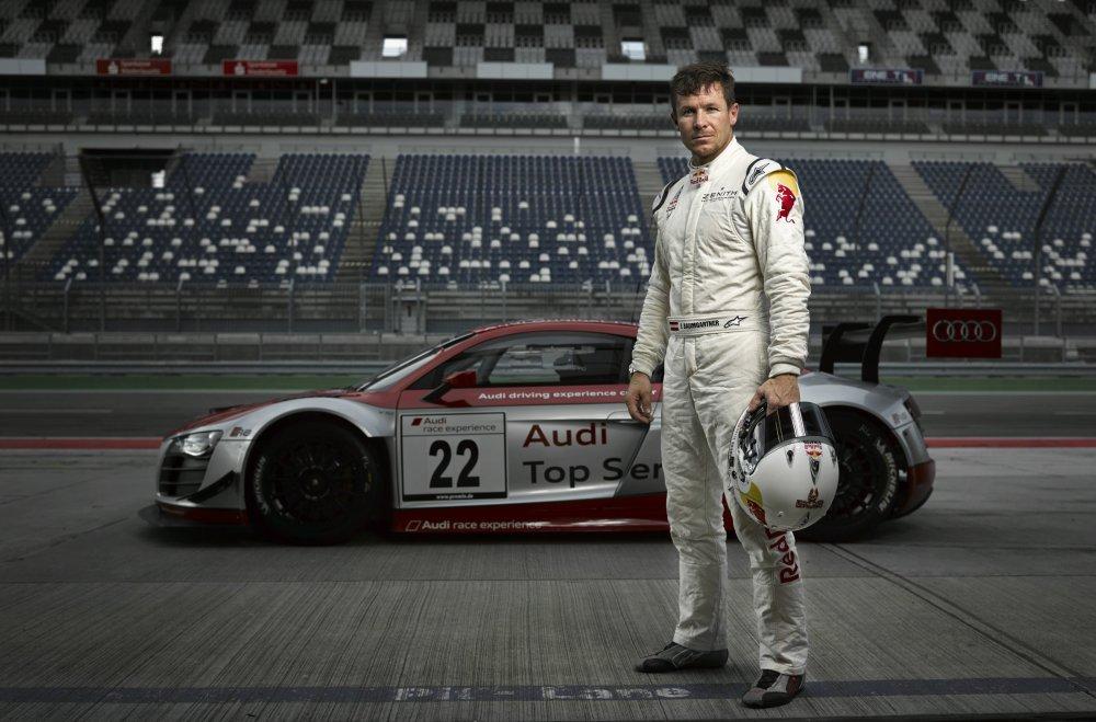 Felix Baumgartner se prepara para las 24 horas de Nurburgring_Foto_Bernhard Spottel