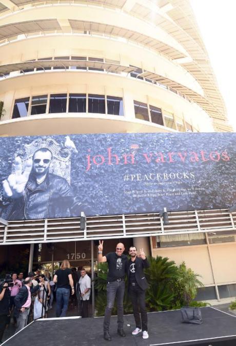 John Varvatos Ringo Starr Fall 2014 Ad Campaign