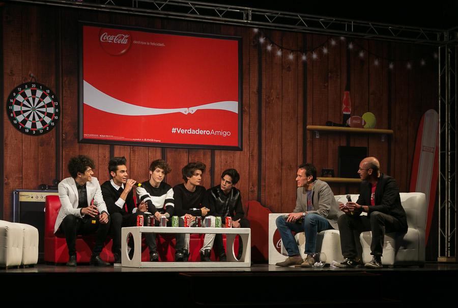 CD9, José Luis Basauri, Director de Marca Coca-Cola en México e Ismael Pascual, Director de Mercadotecnia de Coca-Cola en México