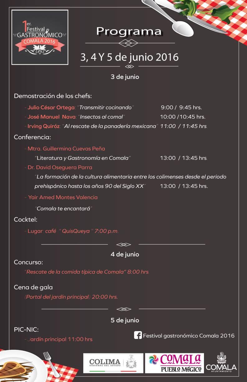 Primer Festival Gastronómico Comala 2016 (1)